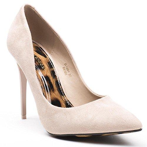 Ideal Shoes ,  Scarpe col tacco donna Beige