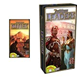 Image for board game Repos Production Cities with Leaders Expansion for 7 Wonders Card Game (English)