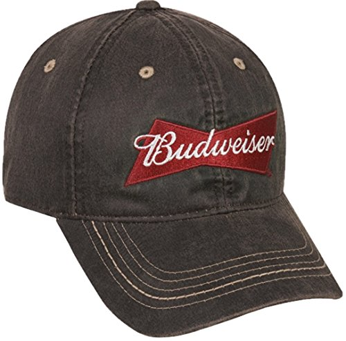 budweiser-weathered-cotton-cap