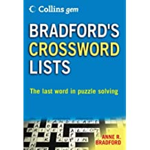 Collins Gem – Bradford's Crossword Lists