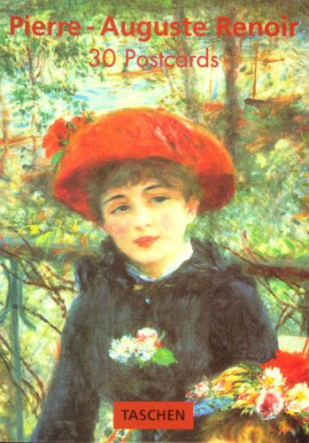 Pierre-Auguste Renoir. Livrets de 30 cartes postales par Taschen Publishing