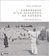Chronique d'un dialogue de sourds : Israël-Palestine,1998-2002