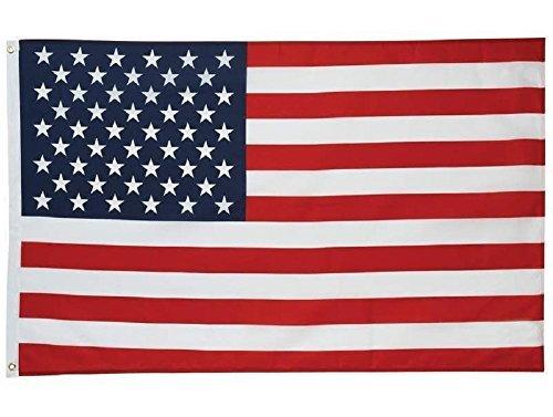 Bandiera dell'america 5 * 3ft / 150 * 90cm bandiera in poliestere ideale per esterni e interni grande bandiera americana