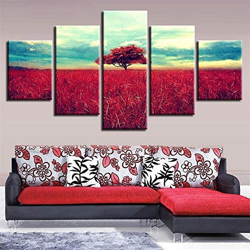 erei,HD Five-in-One-Tusche Malerei Bäume Landschaft Home Fashion Malerei Wandmalerei 5 Malerei Kern 10x15cmx2 10x20cmx2 10x25cmx1 ()