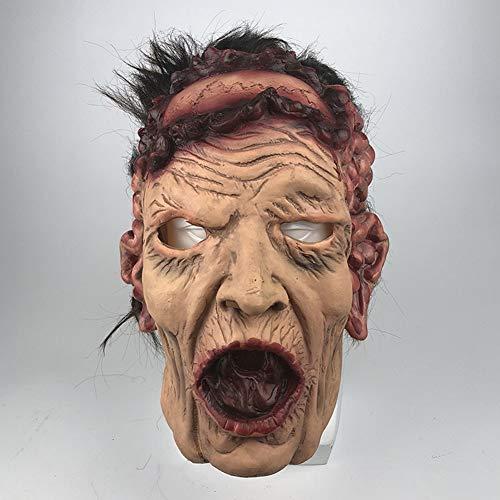 Charakter Dress Up Ideen - Halloween Horror Maske, Naturlatex Scary Movie