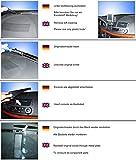 KUDA Navigations Konsole passend für Navi MB E-Klasse / W211 ab 03/02 Mobilia/Kunstleder schwarz