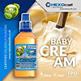 E LIQUID PARA VAPEAR - 30ml Baby Cream (Bizcocho Crema, Vainilla Y Leche) Shake and Vape E Liquido para Cigarrillo.