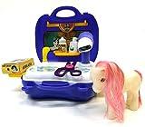 Brigamo 561 - Spielzeug Frisiersalon für Kuscheltiere - To go Spielzeugset Frisiertisch