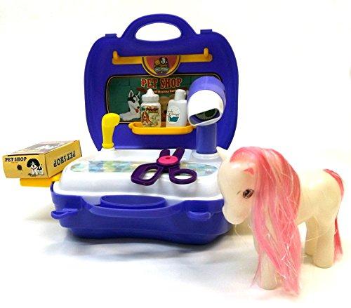 Brigamo 561 - Spielzeug Frisiersalon für Kuscheltiere - To go Spielzeugset Frisiertisch thumbnail