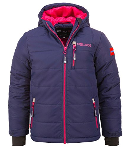 Trollkids Skijacke Hemsedal Snow Marine/pink 3 Jahre (98 cm)