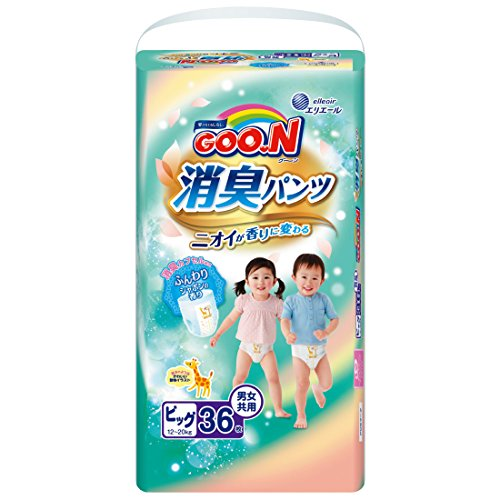 NEU! GOO.N Baby Deo-Windelhöschen AROMAGIC Gr. XL (12-20 kg) 36 Stück Premium Qualität Made in Japan - perfektes Geschenk für Mama und Baby! -