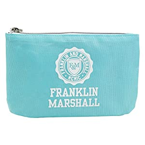 Franklin Marshall Make Up Bag con El Power Bank Bolsos Neceser Vanity Pochettes Azul