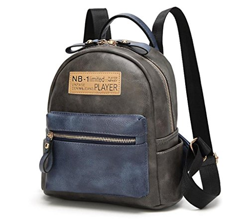 Great Strange Student Double Schultertasche Mobile Travel Shopping Zauber Farbe Zipper Vier Farben 24 * 12 * 25cm , green grey