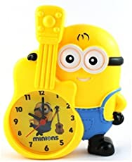 Shubh Impex Premium Minion Character Alarm Clock for Kids with Piggy Bank Specially Designed for Kids Attractive Designer and Stylish Money Holder for Children Perfect Birthday Gift/Return Gifts