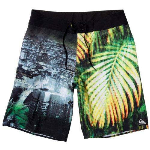 Herren Boardshorts Quiksilver Island Heart 21 Boardshort palm green