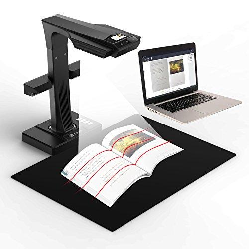 CZUR ET16 Plus Scanner mit Einknopf-Bedienung Dokumentenscanner für Bücher Dokumente Materialien Bilder Bild Es Buchen