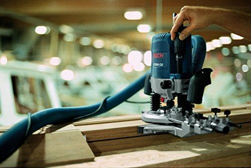 Bosch Professional GOF 2000 CE, 2.000 W Nennaufnahmeleistung, 8.000 – 21.000 min-1 Leerlaufdrehzahl, Parallelanschlag, Kopierhülse 30 mm, Spannzange 12 mm - 4