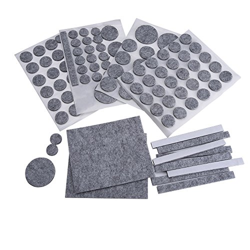mudder-furniture-felt-pads-floor-protector-grey-132-pieces