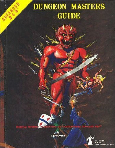 Advanced Dungeons & Dragons: Dungeon Master's Guide [Special Reference Guide] by Gary Gygax (1979) Hardcover
