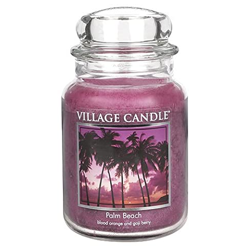 Village Candle 106326813 Candle Palm Beach Red