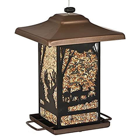 Vogelfutterspender Wald-Laterne für Wildvögel, Perky-Pet 8504-2