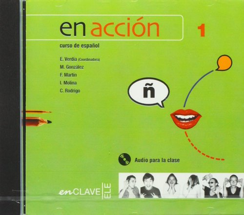 En Acción 1 - CD audio para la clase