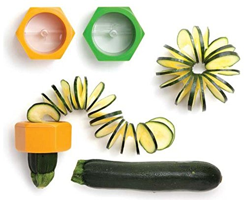Cucumber Spiral Slicer Vegetable Fruit Salad Cutter  available at amazon for Rs.149