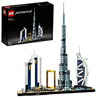 LEGO 21052 Architecture Dubai Model, Skyline Collection, Collectible Building Set