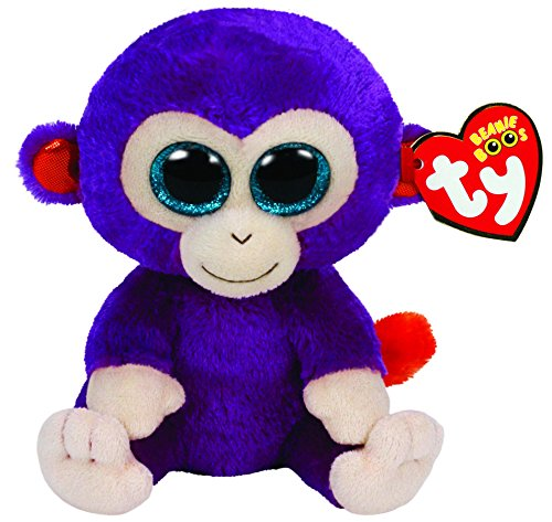 Beanie Boo Monkey - Grapes - 15cm 6""