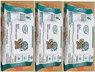 Buddsbuddy Baby Skin Care Fliptop Wipes,80pcs Combo of 04packs(320 Count)