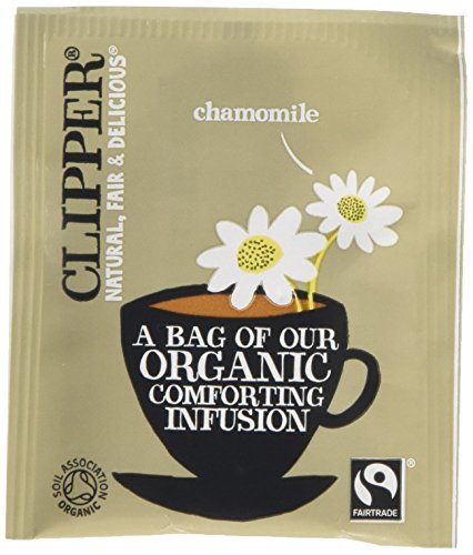 Clipper Organic Fairtrade Infusion Chamomile Enveloped 250 Teabags 375 G