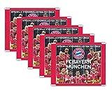 Panini - FC Bayern München Offizielle Stickerkollektion 2017/18 - 5 Booster Packungen 25 Sticker - Deutsche Ausgabe
