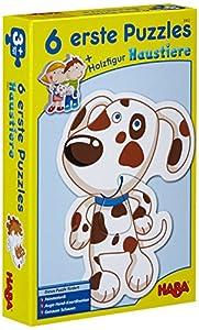 HABA 3902 - Puzzle Infantil, diseño de Animales domésticos