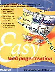 Easy Web Page Creation (Cpg- Other) by Mary Millhollon (2001-02-28)