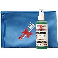 EMAX Boule de bowling Balle et nettoyant + microfibre serviette
