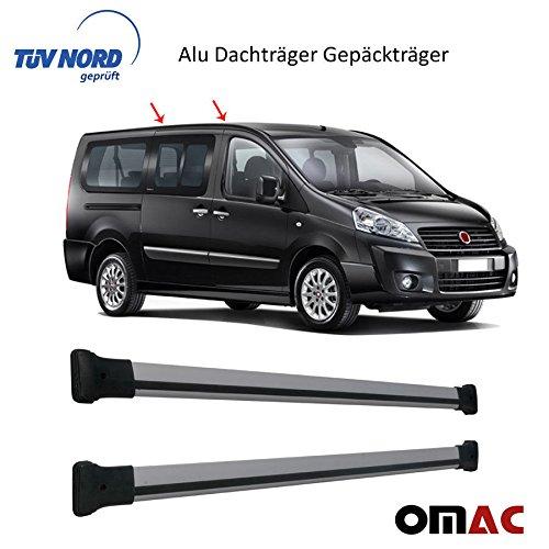 Alu Dachträger Gepäckträger Dachreling GRAU Jumpy/ Scudo /Expert mit TÜV / ABE