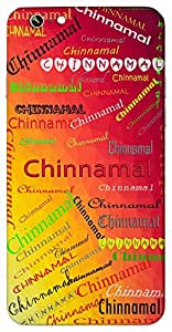 Chinnamal (Little Girl) Name & Sign Printed All over customize & Personalized!! Protective back cover for your Smart Phone : Samsung Galaxy A-7