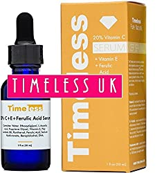Timeless Skin Care Vitamin C+e Ferulic Acid Serum 30ml - From Timeless Uk© The Primary Authorised Distributor Of Timeless Skin Care Range In Uk & Europe! Fresh Stock Guaranteed!