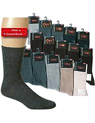 Wowerat Lot de 10 paires de chaussettes antidérapantes sans élastique