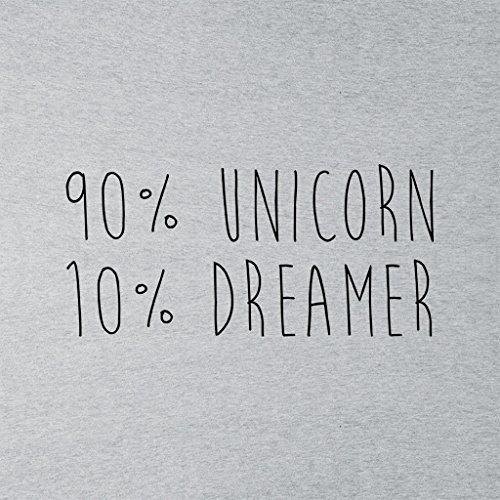 Ninety Per Cent Unicorn Womens Vest Heather Grey
