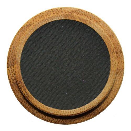 ZAO Matt Eyeshadow 206 schwarz Lidschatten Eyeliner Cake Pro Augenbrauenpuder in nachfüllbarer...