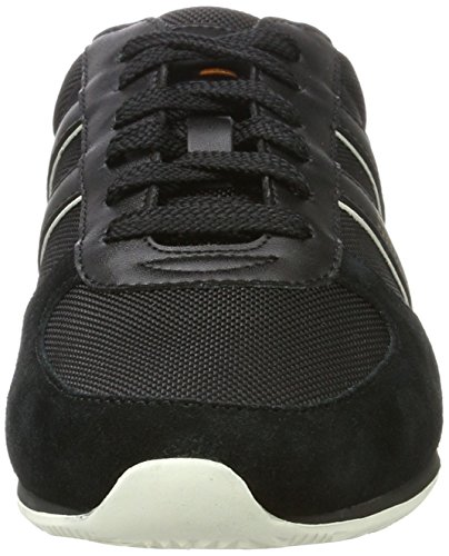 Bassi ny Boss Orland Orange runn Sneakers 01 Noir Homme nero 10198912 qxrx0AtRw
