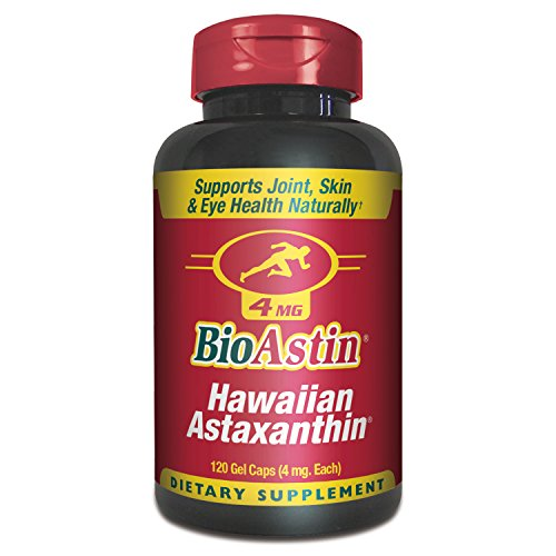 Nutrex BioAstin - Hawaiian Astaxanthin Supplement - 120 x 4mg Gel Caps