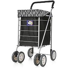 Windsor - Carrello per la spesa con ruote girevoli
