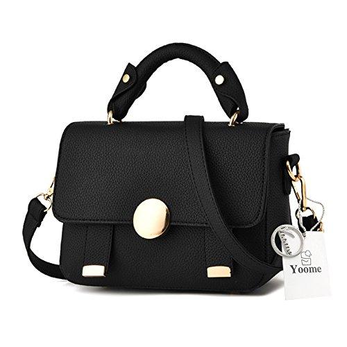 Yoome Punk Style Top Handle Handtaschen Für Frauen Luxus Taschen Für Frauen Auf Verkauf Makeup Beutel Tasche - (Up Für Verkauf Make)