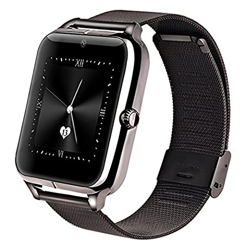 Support Carte Sim Sony - GreatCool Smartwatch Montre Android Métallique Smart Watch