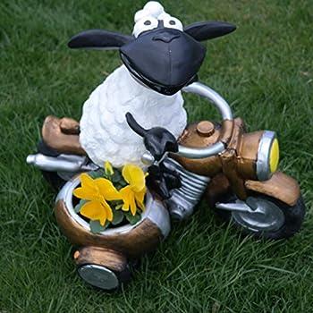 Zum Bepflanzen Tierfigur Deko Garten Terrasse Schaf Molly