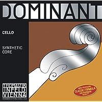 Dominant Strings 144.125 - Cuerda para violonchelo de cromo en Sol, 1/8