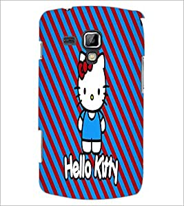 PrintDhaba Hello Kitty D-5609 Back Case Cover for SAMSUNG GALAXY S DUOS 2 S7582 (Multi-Coloured)