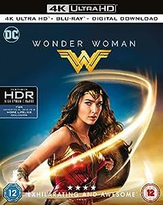 Wonder Woman [4K Ultra HD + Blu-ray + Digital Download] [2017] [Region Free]